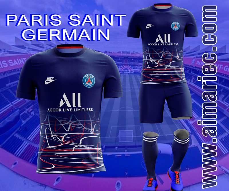 uniforme sublimado paris saint germain 2020 psg