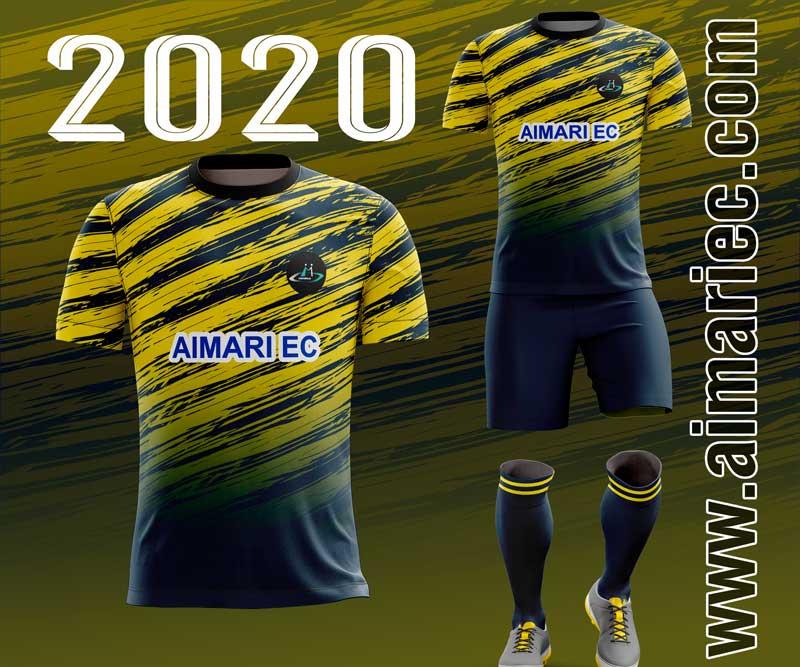 Uniforme sublimado de futbol