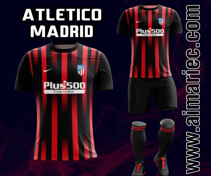 Uniforme atlético de Madrid 2020 sublimado