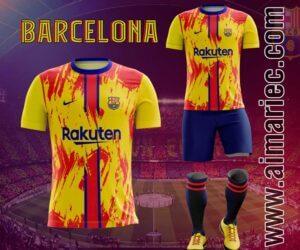 camiseta barcelona 2020 2021 fantasy sublimado
