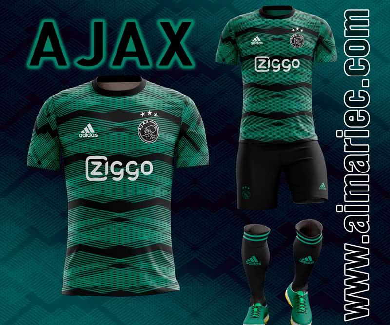 uniforme sublimado ajax 2020 fantasy kit