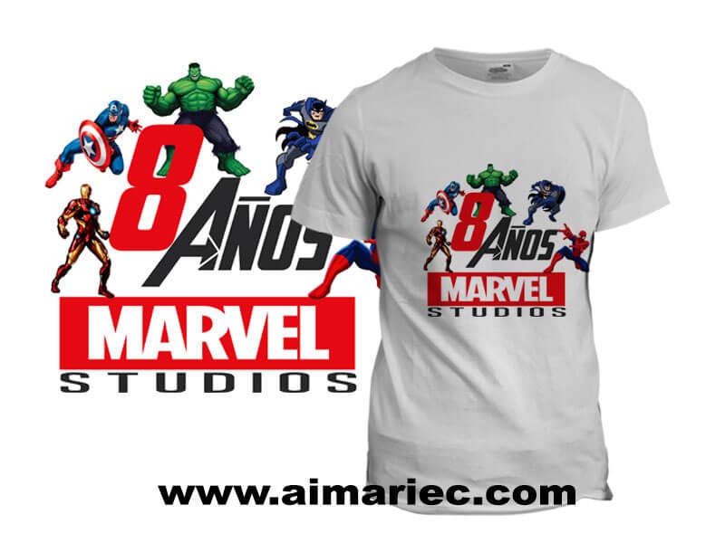 camiseta-marvel-superheroes-para-cumpleaños