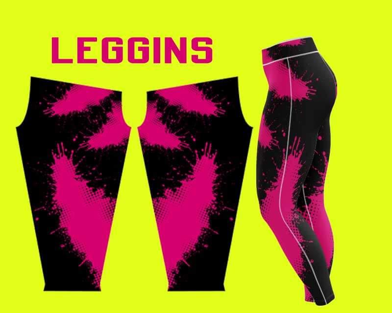 Diseño de leggins para sublimar gratis
