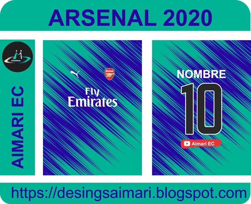 vector camiseta arsenal 2020 2021
