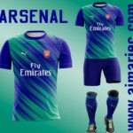 uniforme arsenal 2020 - 2021