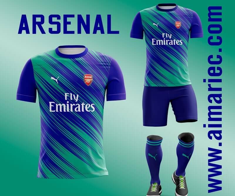uniforme arsenal 2020 - 2021