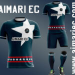 uniforme de futbol color azul petroleo