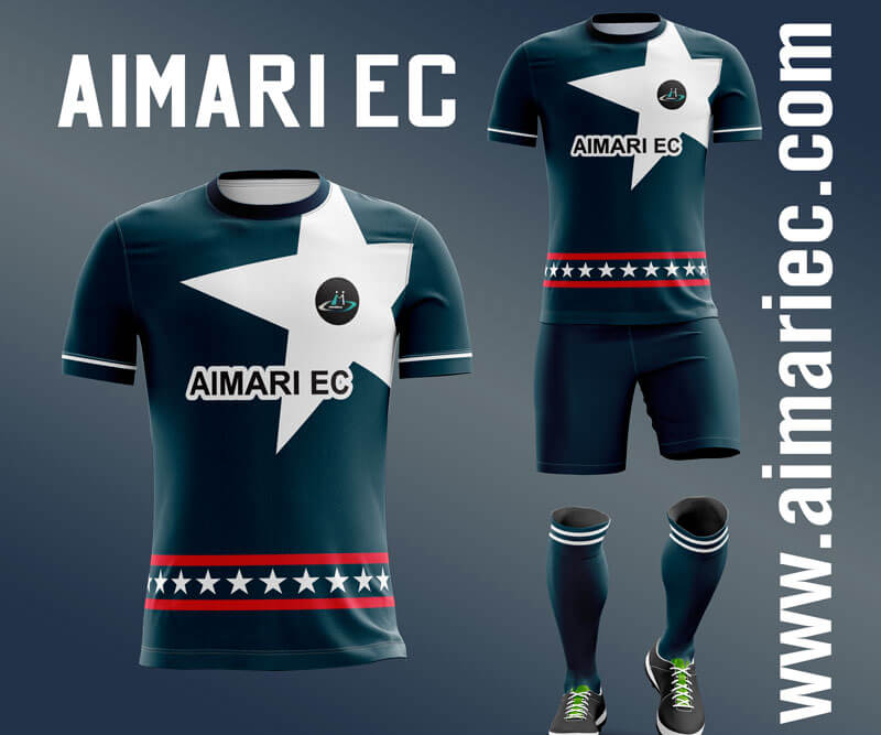uniforme de futbol color azul petroleo