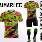 uniforme de futbol fosforescente