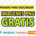 5 Páginas para descargar imágenes PNG gratis