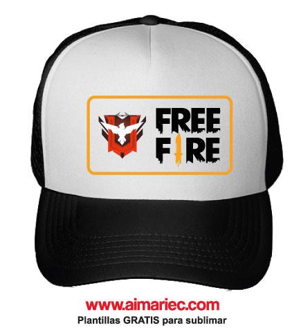 gorra free fire heroico
