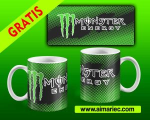 Taza Monster Energy