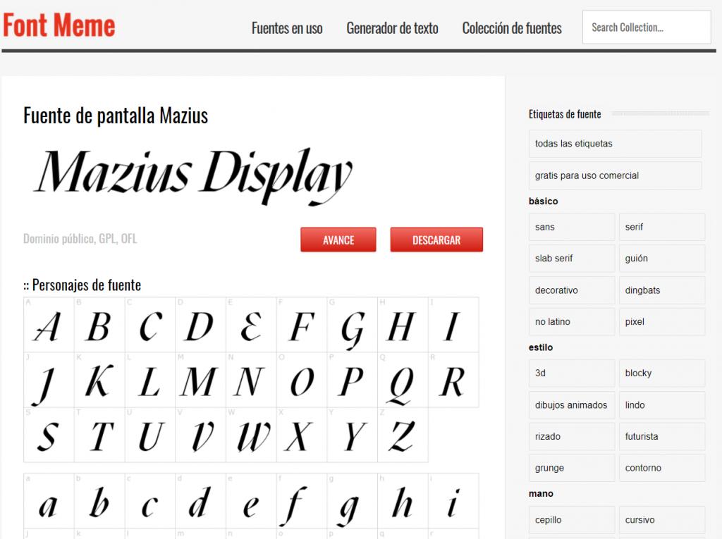 Paginas para descargar e instalar tipografías gratis