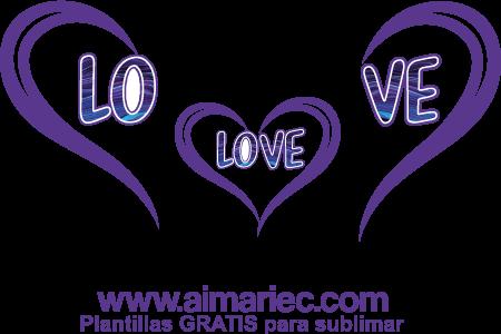 plantilla para sublimar camisetas personalizadas para amor en familia