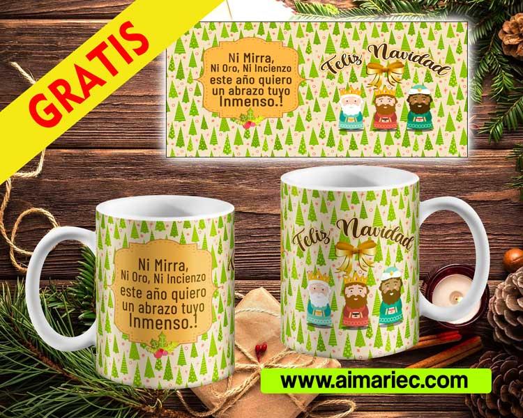 plantilla de taza para navidad, diseño personalizado, mugs para navidad