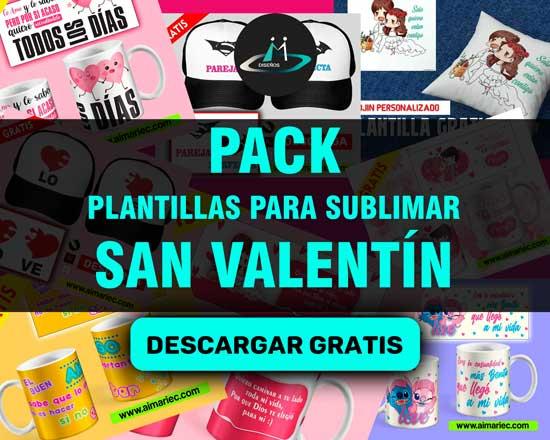 Pack Plantillas 14 de Febrero (San Valentín)