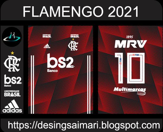 vector camiseta flamengo 2021 desing fantasy