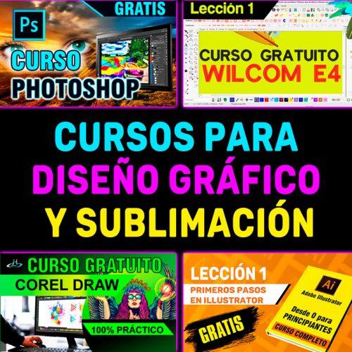 Cursos para diseño gráfico y Sublimación