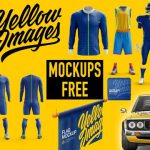 Descargar mockups gratis de Yellowimages