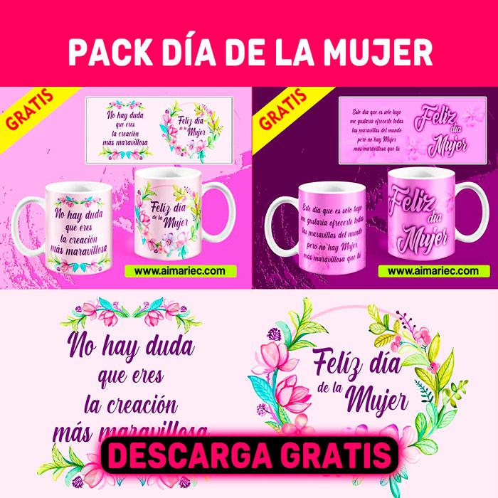 Pack plantillas Día de la Mujer (Descarga Gratis)