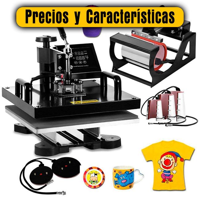 máquinas para sublimar precios y características