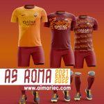 Kit As roma 2021-2022 concept