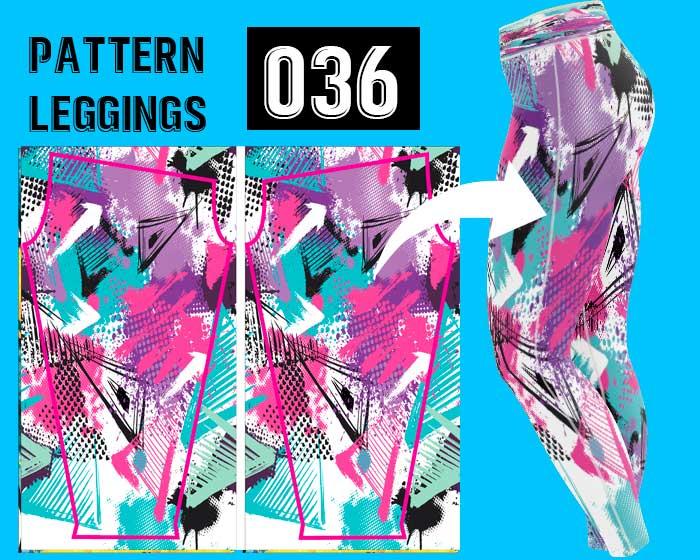 Leggings sublimado personalizado