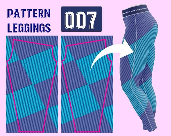 Leggings deportivo femenina sublimada